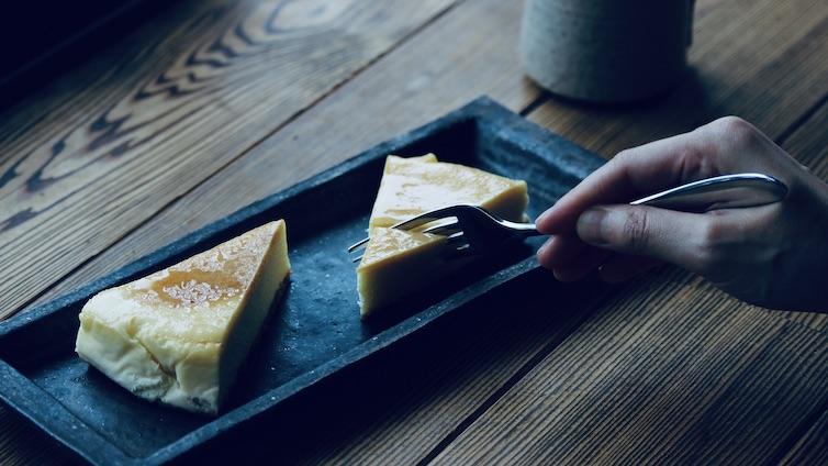 ヒコはニューヨークチーズケーキ